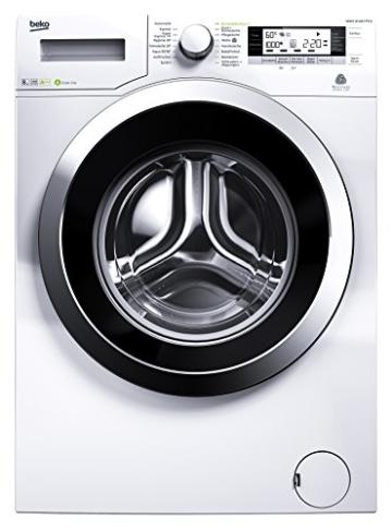 Beko WMY 81443 PTLE Waschmaschine FL / A+++ / 192 kWh/Jahr / 1400 UpM / 8 kg / LC-Display / weiß - 1