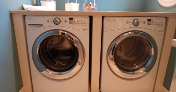 Unterbau-Waschmaschine