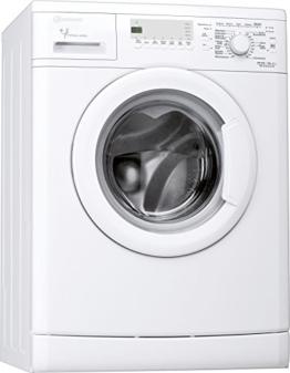 Bauknecht WA Champion 64 Waschmaschine FL / A+++ / 147 kWh/Jahr / 1400 UpM / 6 kg / 8200 L/Jahr / Startzeitvorwahl /Unterbaufähig / weiß - 1