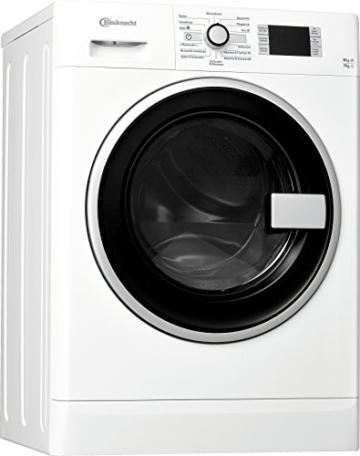 Bauknecht WATK Prime 9716 Waschtrockner / 234 kWh / / Startzeitvorwahl und Restzeitanzeige / Mischwäsche und Wolle Programm / weiß - 1