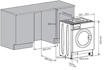 Beko WMI 71443 PTE Waschmaschine FL / A+++ / 171 kWh/Jahr / 1400 UpM / 7 kg / 9020 L/Jahr / Haustier Haarentfernung / weiß - 4