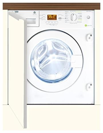 Beko WMI 71443 PTE Waschmaschine FL / A+++ / 171 kWh/Jahr / 1400 UpM / 7 kg / 9020 L/Jahr / Haustier Haarentfernung / weiß - 1