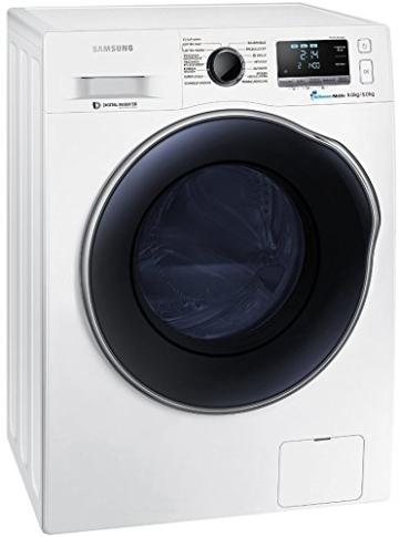 Samsung WD80J6400AWEG Waschtrockner / 8kg Waschen / 1088 kWh / SchaumAktiv Technologie / weiß - 4