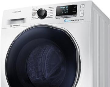 Samsung WD80J6400AWEG Waschtrockner / 8kg Waschen / 1088 kWh / SchaumAktiv Technologie / weiß - 8