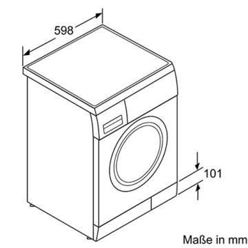 Siemens iQ300 WM14E425 iSensoric Waschmaschine / A+++ / 1400 UpM / 7 kg / weiß / VarioPerfect / WaterPerfect / Super15 - 10