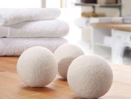 Trocknerbälle & Trocknerkugeln aus 100% echter Neuseeland-Wolle (3) - schonender Weichspüler - 1