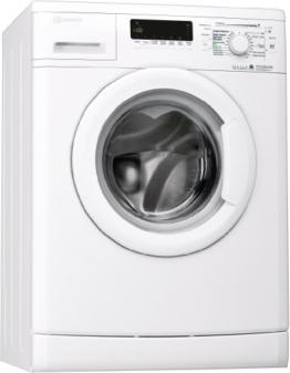 Bauknecht WA PLUS 634 Waschmaschine Frontlader / A+++ / 2+2 Jahre Herstellergarantie / 1400 UpM / 6 kg / Weiß / Startzeitvorwahl / 15-Minuten-Programm / Farbprogramme - 1