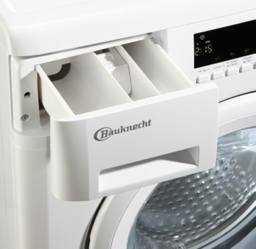 Bauknecht WA PLUS 634 Waschmaschine Frontlader / A+++ / 2+2 Jahre Herstellergarantie / 1400 UpM / 6 kg / Weiß / Startzeitvorwahl / 15-Minuten-Programm / Farbprogramme - 7