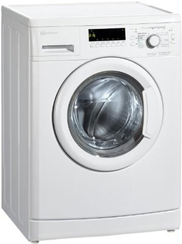 Bauknecht WA PLUS 634 Waschmaschine Frontlader / A+++ / 2+2 Jahre Herstellergarantie / 1400 UpM / 6 kg / Weiß / Startzeitvorwahl / 15-Minuten-Programm / Farbprogramme - 8