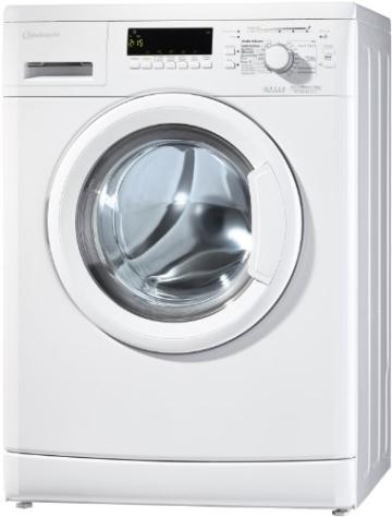 Bauknecht WA PLUS 634 Waschmaschine Frontlader / A+++ / 2+2 Jahre Herstellergarantie / 1400 UpM / 6 kg / Weiß / Startzeitvorwahl / 15-Minuten-Programm / Farbprogramme - 10