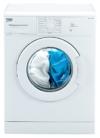 Beko WML 15106 NE Waschmaschine Frontlader / A+ / 168 kWh/Jahr / 1000 UpM / 5 kg / weiß / Programmablaufanzeige / Mini 30-Programm - 1