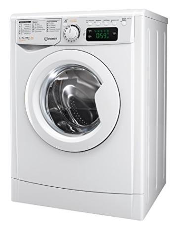 Indesit EWDE 71680 W DE Waschtrockner / 952 kWh / MyTime Täglich-Schnell-Programme unter 1 Std / Aquastopp/ 1600 Umin / weiß - 1