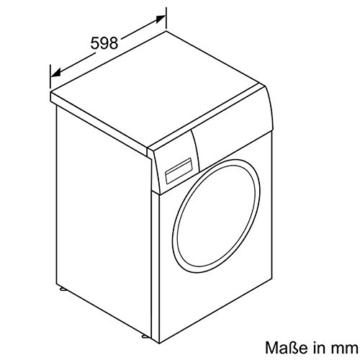 siemens iq700 wm16w540 isensoric premium waschmaschine g nstige waschmaschine kaufen. Black Bedroom Furniture Sets. Home Design Ideas