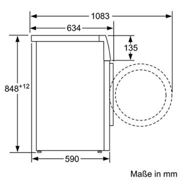 Siemens iQ700 WM16W540 iSensoric Premium-Waschmaschine / A+++ / 1600 UpM / 8kg / weiß / VarioPerfect / Antiflecken-System / Selbstreinigungsschublade - 6