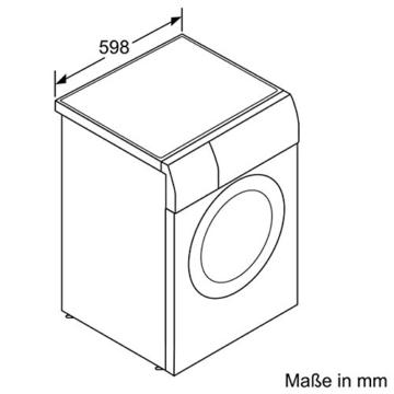 Siemens WD15G442 Waschtrockner / 1088 kWh / 8kg Waschen / 5kg Trocknen / Großes Display mit Endezeitvorwahl / weiß - 5